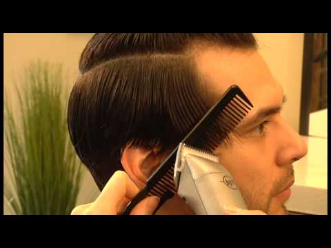 How To Cut Long Men S Haircut Scissors Clippers Youtube