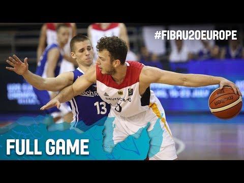 Germany v Czech Republic - Full Game - FIBA U20 European Championship 2017