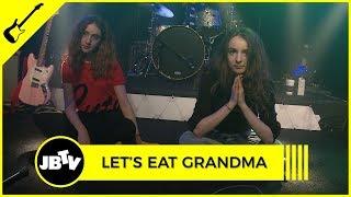 Let's Eat Grandma - Donnie Darko   Live @ JBTV