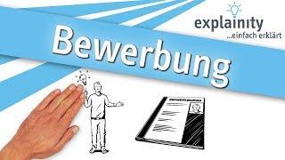 Bewerbung einfach erklärt (explainity® Erklärvideo)