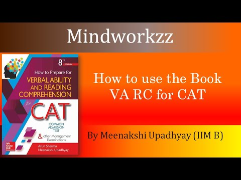 How To Use The Book VA RC For CAT Meenakshi Upadhyay