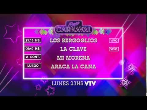 Agenda Carnaval Lunes 8 Febrero