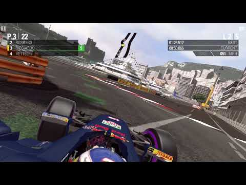 F1™ 2016 Mobile: Race at Monaco with Daniel Ricciardo