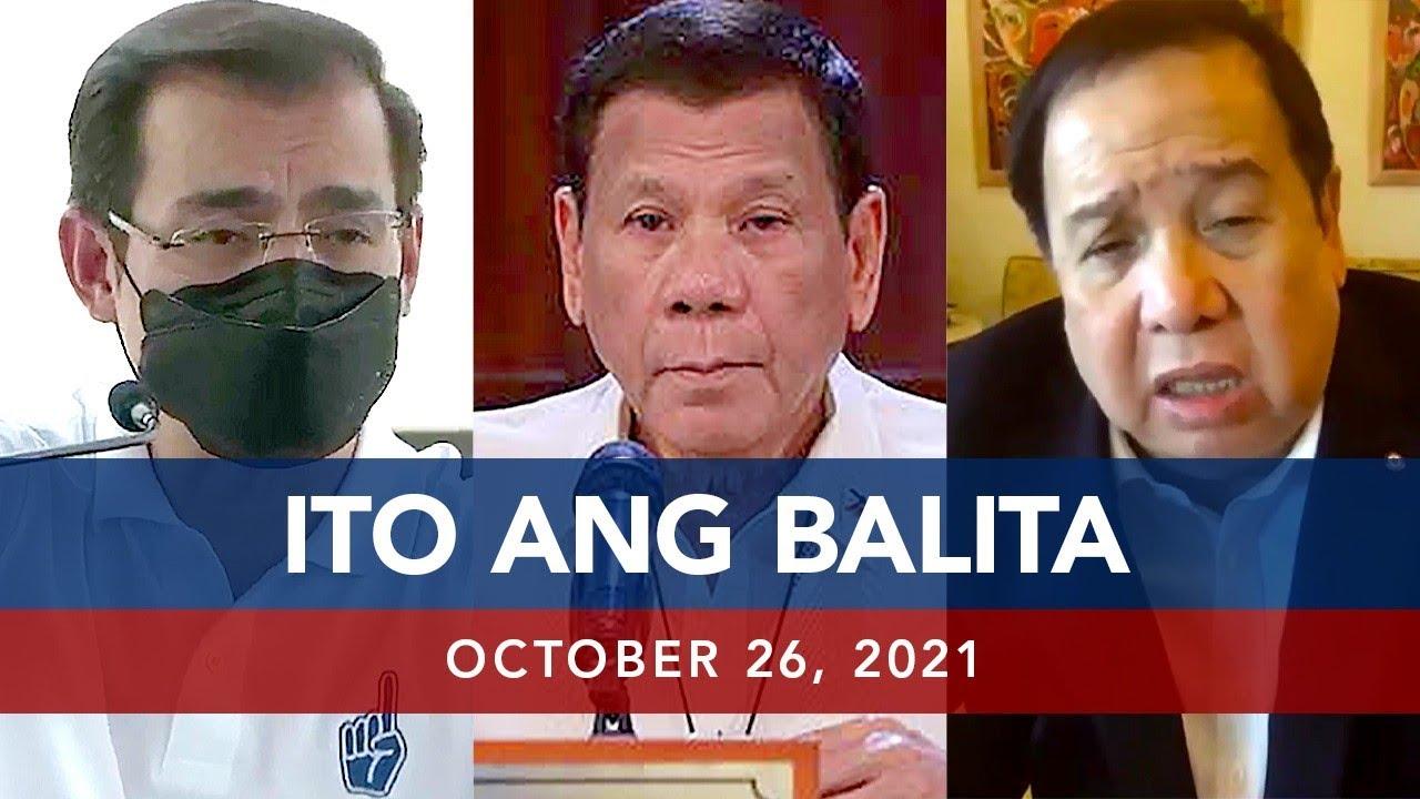 Download UNTV: ITO ANG BALITA   October 26, 2021
