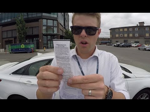 Parking Ticket Challenge. How To Get It Reduced!