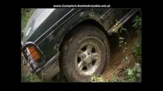 Off-road Isuzu Trooper & Land Rover Discovery Camp 4x4