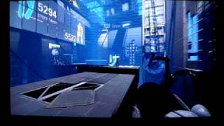 Portal 2 Showing Steam on PlayStation 3, Also Multiplayer Co op online Game Play Part 1.MPG