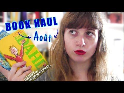 Book Haul Août    DANS LEQUEL JE FAIS N'IMPORTE QUOI