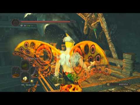 Dark Souls II - Veneno Playthrough DLC - 10 - Corona Hundida | Venganza Mariposa |