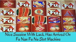 NICE SESSION WITH LUCK HAS ARRIVED ON FU NAN FU NU SLOT MACHINE - SunFlower Slots