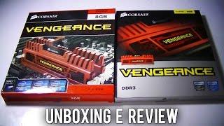 Unboxing e Review: Corsair Vengeance 1600MHz 2x4GB Overclock 2133MHz (CMZ8GX3M2A1600C9R)PT-BR