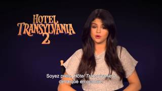 Selena Gomez dedicates message to Hotel Transylvania French Facebook Page