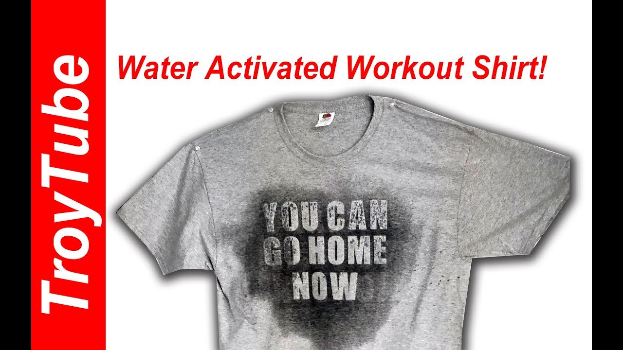 da95208d1 How to Make a Water Activated Workout Shirt - YouTube