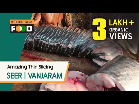 Amazing Fast Fish Cutting | Vanjaram Meen | Seer Fish @ Kasimedu in Chennai | Thin Fish Slices