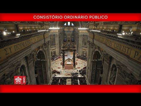 Papa Francisco -Consistório  Ordinário...