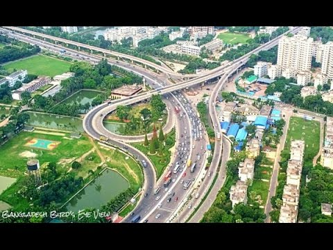 Tour - Digital Dhaka City In Bangladesh ! - Beautiful Road Trip !!
