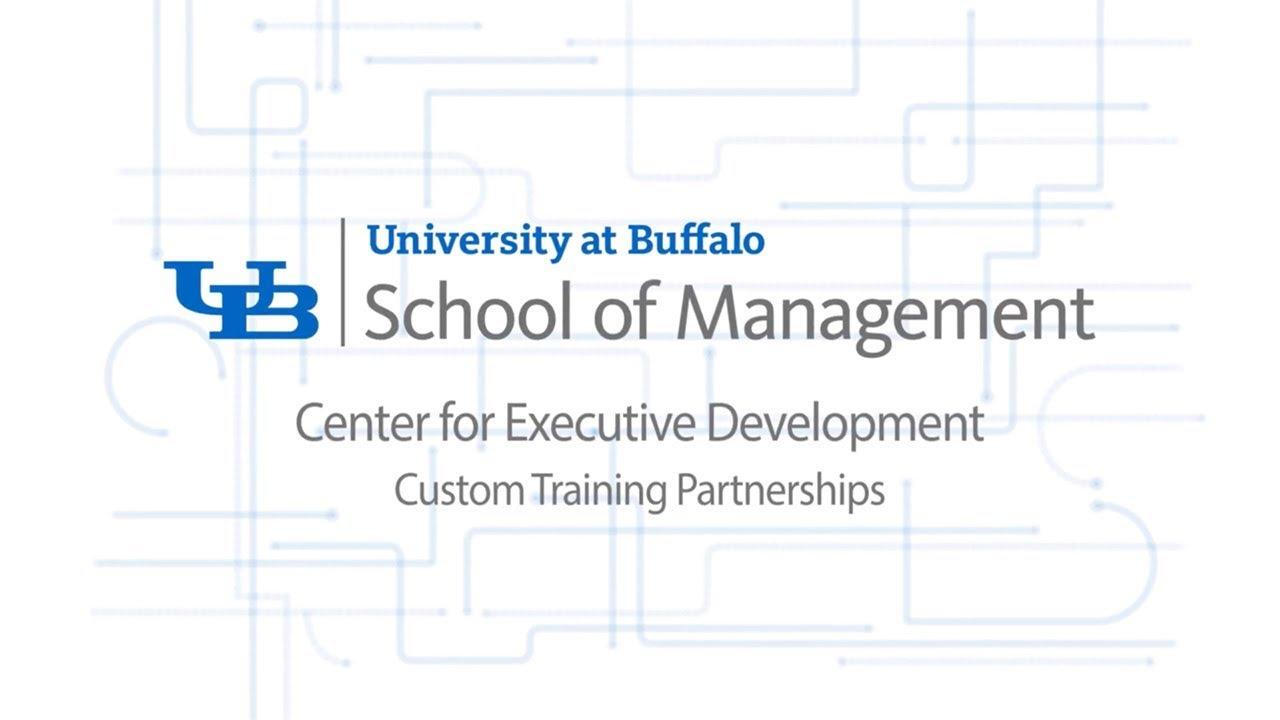 Executive Education School Of Management University At Buffalo