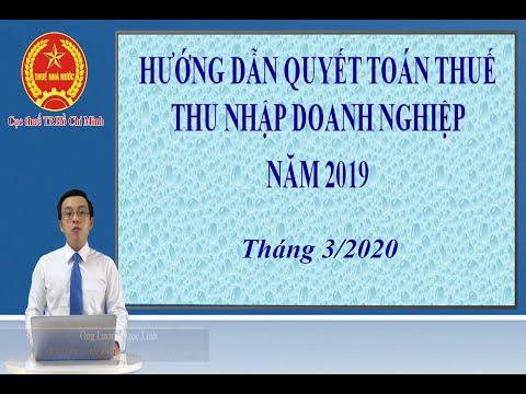 [Cục thuế TP.HCM] Tháng 3/2020-Tập huấn quyết toán thuế thu nhập doanh nghiệp năm 2019