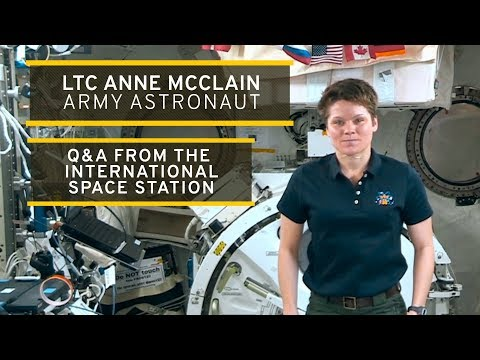 Q&A With Army Astronaut In Space