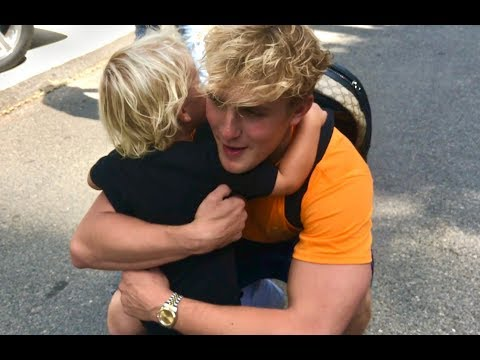 Thumbnail: Mini Jake Paul REUNITED With Jake Paul **Super Cute**