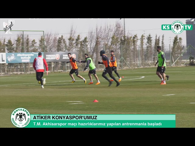 Takımımız T.M. Akhisarspor maçının hazırlıklarına başladı