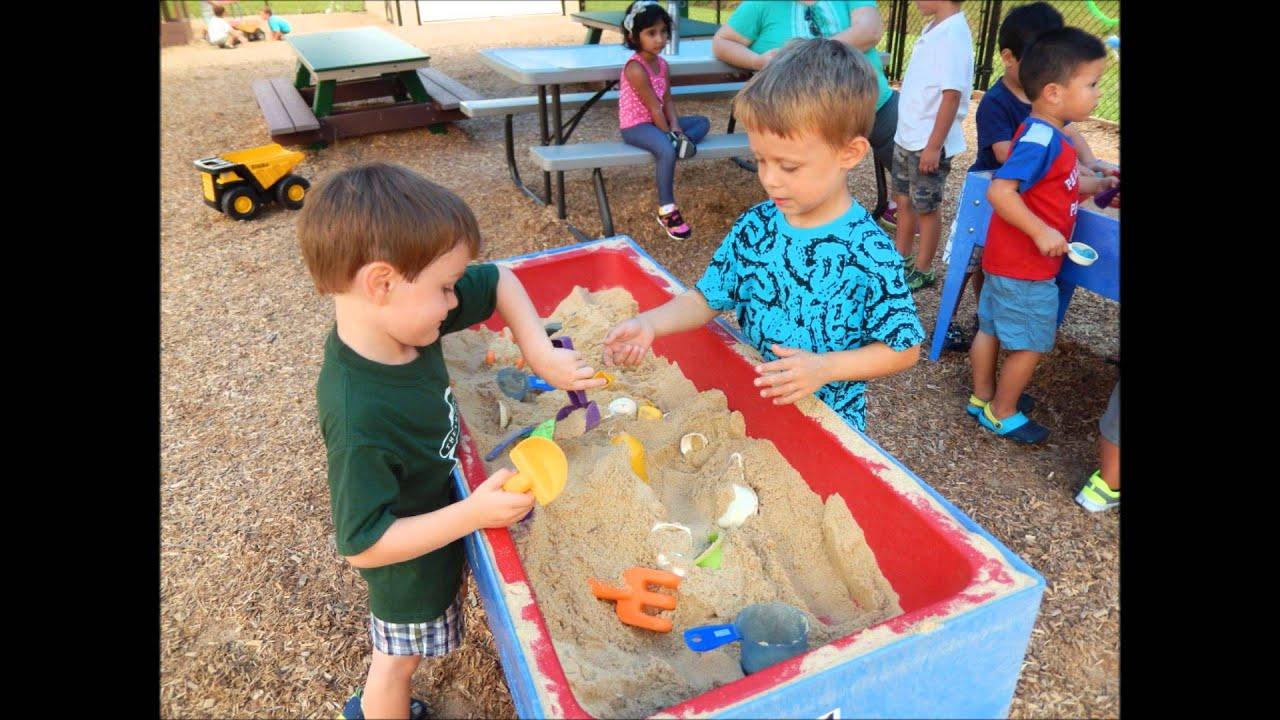 Horsham Montessori Childrens House Outside at Montessori