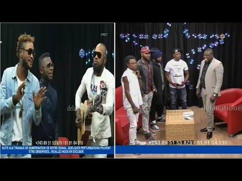 Ba musiciens ya FERRE GOLA na FALLY IPUPA ba tutanaki na plateau moko. Suka