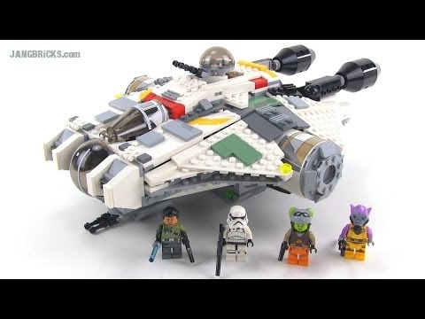 LEGO Star Wars Rebels 75053 The Ghost review! - YouTube
