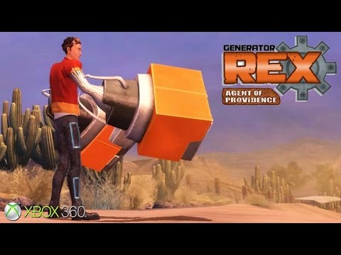 Generator Rex: Agent of Providence - Xbox 360 / Ps3 Gameplay (2011)