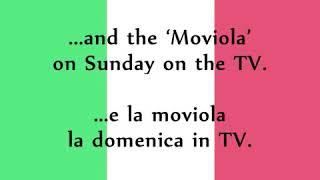 Toto Cutugno - L'Italiano -- Italian and English Translation lyrics