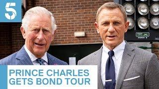 Download Daniel Craig shows Prince Charles around James Bond studio | 5 News Mp3 and Videos