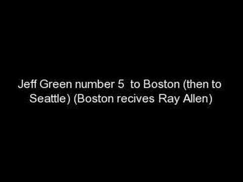 2007 NBA Draft (Top Ten Picks)
