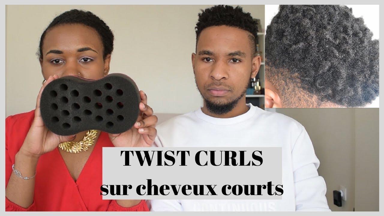 Twist Curls Boucles Sur Cheveux Courts Homme Et Femme