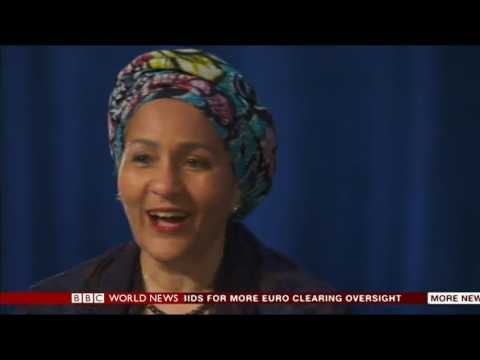 Amina Mohammed on BBC World TV