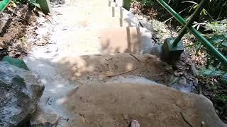 Mi vizitas akvofalon en Laoso 🇱🇦