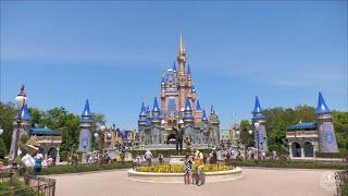 An Afternoon Walk Around Magic Kingdom in 4K | Walt Disney World Orlando Florida April 2021