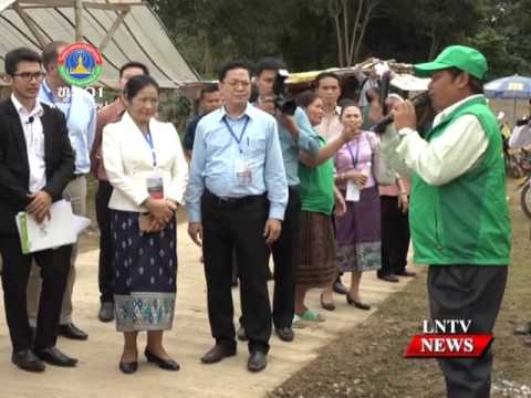 Lao NEWS on LNTV: PM Thongloun Sisoulith receives UN Resident Coordinator.7/12/2016