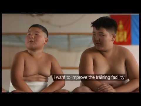Meet Mongolia's Sumo Babies