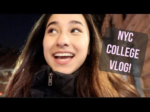 FUN WEEKEND AS A NYC COLLEGE STUDENT!