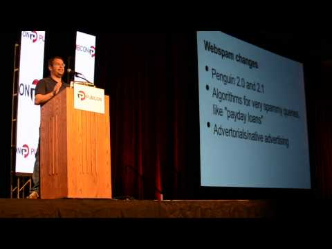 Matt Cutts' Keynote at Pubcon 2013 - Part 1