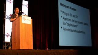Matt Cutts' Keynote at Pubcon 2013 - Part 1