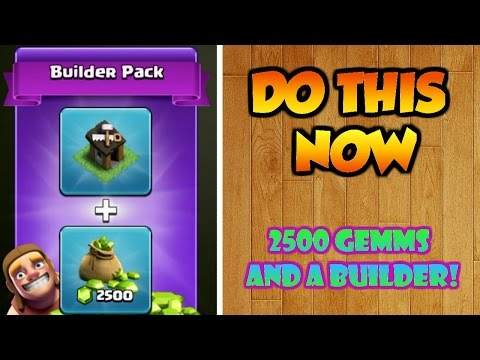 Clash Of Clans | SECRET PACK | How To Get A Builder For