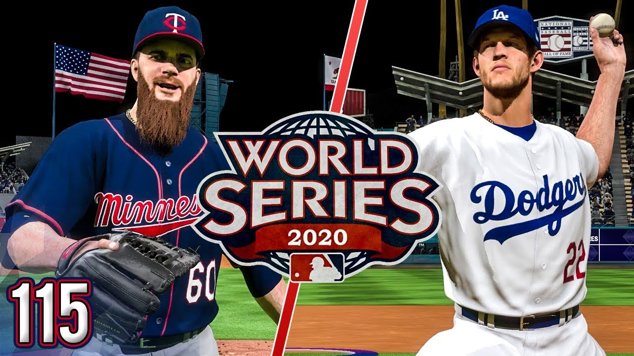 Mlb The Show 2020.World Series Begins Vs Dodgers Mlb The Show 18 Franchise Ep 115