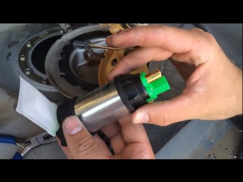 How to change a fuel pump  Fuel Filter Ford Mustang 1994-2004 sn95