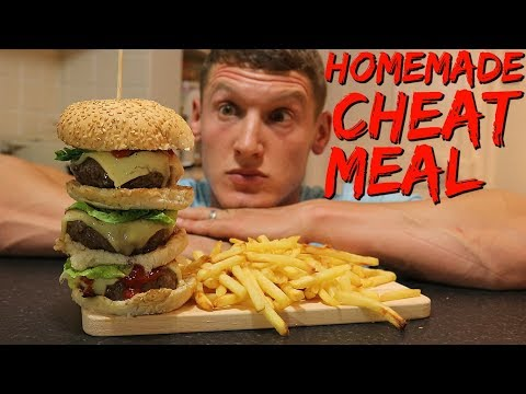 EPIC CHEAT MEAL | Homemade Fast Food | 100,000 Subscribers