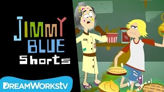 Mad Scientist Pie Fight | JIMMY BLUE SHORTS