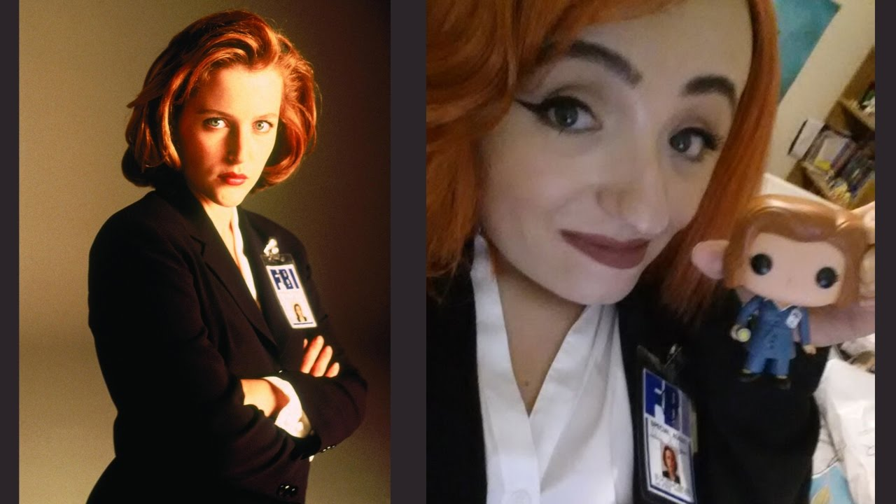 halloween costume 2016 special agent dana scully