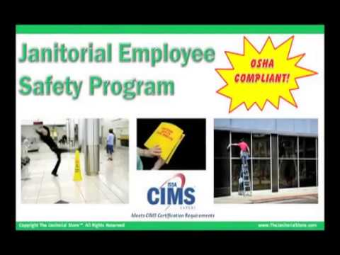 janitorial safety training youtube rh youtube com Janitorial Cleaning Checklist free janitorial training manuals