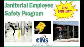 Janitorial Employee Safety Training