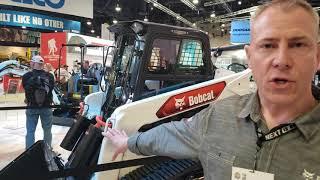 Video still for Bobcat T76e Electric Concept Machine at ConExpo